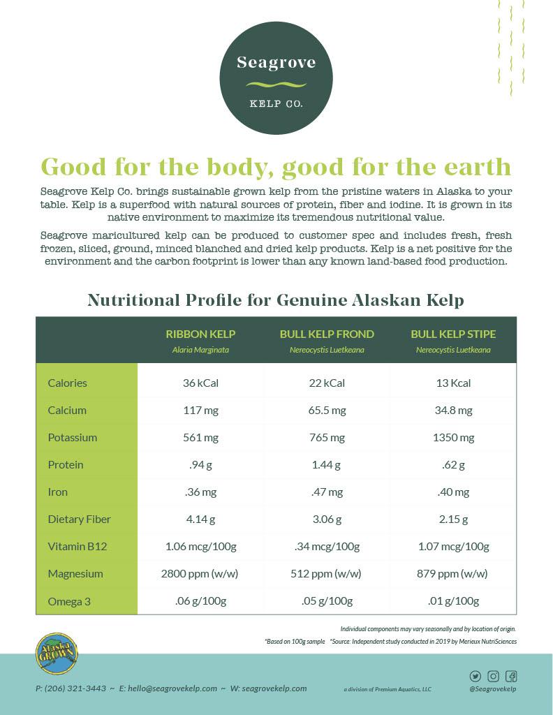 Seagrove NutritionalInfo1024 1